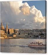 Valetta Skyline, Malta. Canvas Print