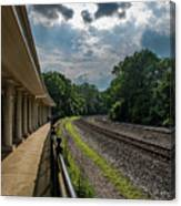 Valley Forge Train Station  Canvas Print