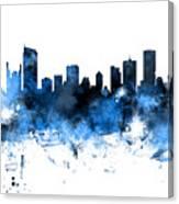 Vancouver Canada Skyline Panoramic Canvas Print
