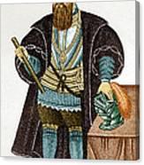 Vasco Da Gama, Portuguese Explorer Canvas Print
