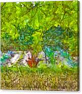 Vegetable Garden Canvas Print