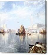 Venetian Grand Canal Canvas Print