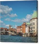 Venice Panorama Canvas Print