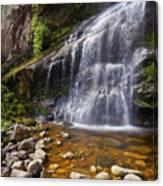 Veu Da Noiva Waterfall Canvas Print