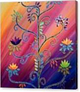Vibrant Tree Of Life Canvas Print