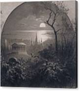 View From Greenwood Cemetery Canvas Print
