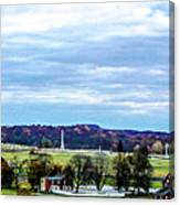 View From Longstreet Tower Canvas Print