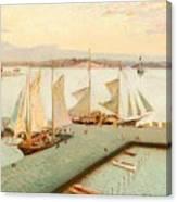 View From Pohjoisranta Canvas Print