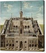 View Of A Castle Canvas Print