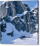 View Of Alaska Canvas Print