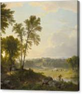 View Toward The Hudson Valley Canvas Print