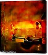 Vintage Car 2 Neons Edition Canvas Print