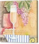 Vintage Champagne Canvas Print
