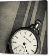 Vintage Pocket Watch Canvas Print