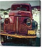 Vintage Studebaker Truck Canvas Print
