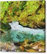 Vintgar Gorge Canvas Print