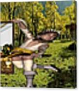 Virtual Exhibition - 17 Canvas Print