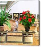 Virtual Exhibition 22 Canvas Print