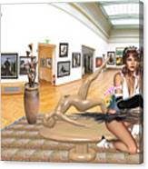 Virtual Exhibition - 33 Canvas Print
