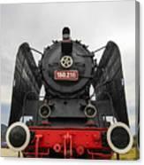 Viseu De Sus Steam Engine Canvas Print