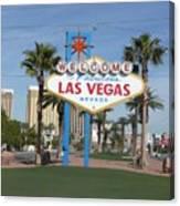 Viva Las Vegas Canvas Print
