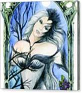 Vivian Of The Ravens Canvas Print