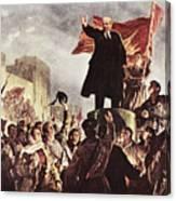 Vladimir Lenin (1870-1924) Canvas Print