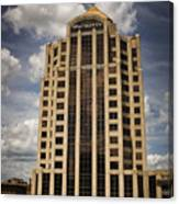 Wachovia Tower Roanoke Virginia Canvas Print