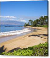 Wailea Ulua Beach Canvas Print