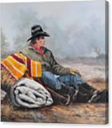 Waitin' On The Boss Canvas Print