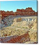 Wall Of Goblins On Carmel Canyon Trail In Goblin Valley State Park, Utah Canvas Print