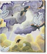 War In Heaven Canvas Print