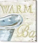 Warm Bath 2 Canvas Print