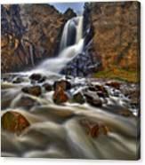 Waterfall Canyon Canvas Print