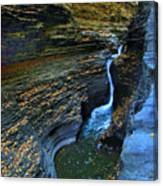 Watkins Glen Gorge Canvas Print