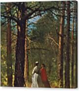 Waverly Oaks Canvas Print