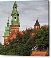 Wawel Royal Castle In Krakow Canvas Print