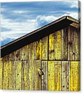Weathered Wooden Barn, Gaviota, Santa Canvas Print