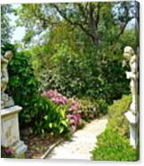 Welcome To My Garden Canvas Print