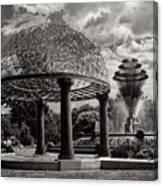 Wellspring Fountain - Council Bluffs Iowa Canvas Print