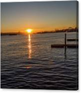 West Seattle Sunrise Canvas Print