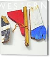 Western Canvas Print