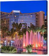 Westin Hotel Long Beach Canvas Print
