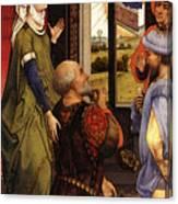Weyden Bladelin Triptych    Canvas Print