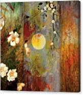 Whisper Forest Moon II Canvas Print