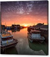 Whitstable Sunset Canvas Print