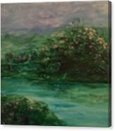 Wild Rose Bushes Canvas Print