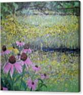 Wild Spring Flowers Canvas Print