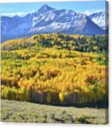 Wilson Mesa And Mt. Wilson Canvas Print