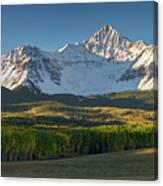 Wilson Peak Panorama Canvas Print